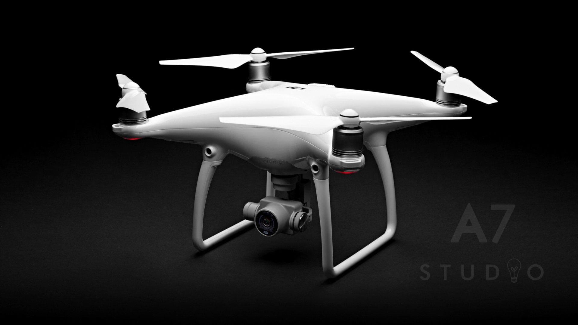 Filmowanie dronem DJI 4 - Studio A7 w Bydgoszczy