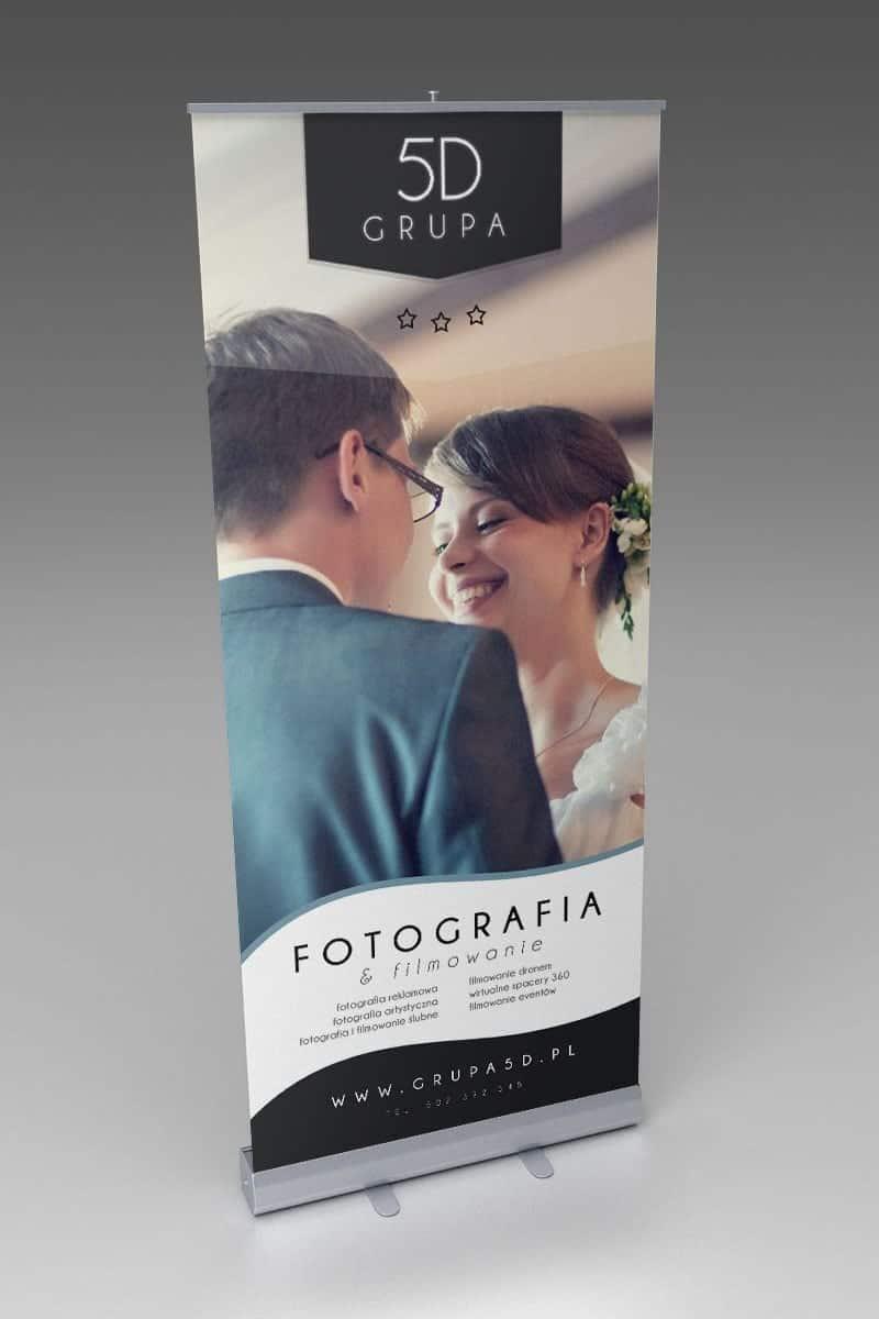 Rollup reklamowy - Grupa 5D - Bydgoszcz