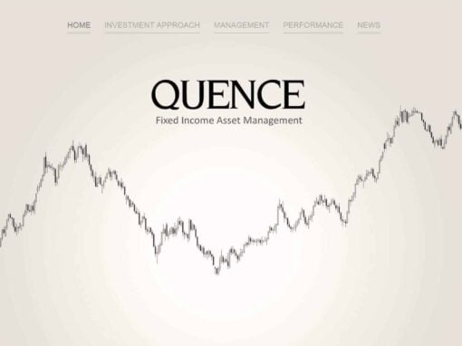 Wizytówka WWW dla Quence Qapital