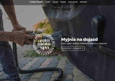 Strona WWW dla Auto Moto Spa