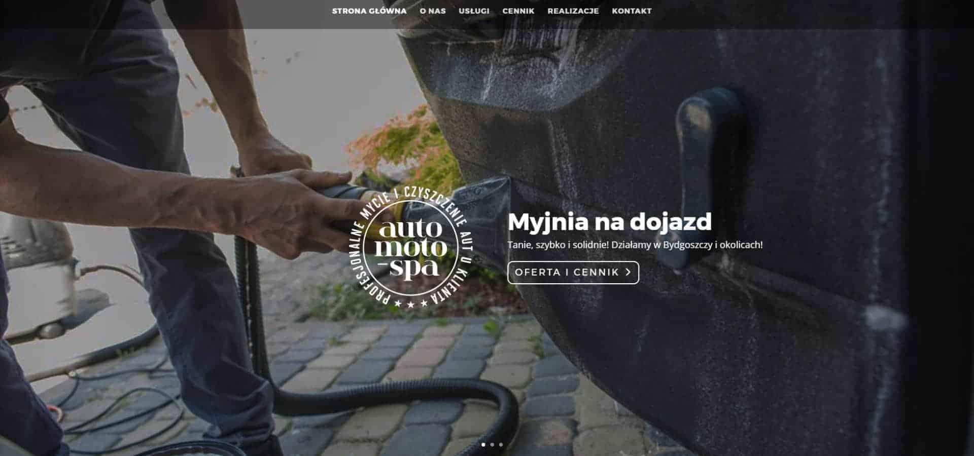 Strona WW dla Auto Moto Spa