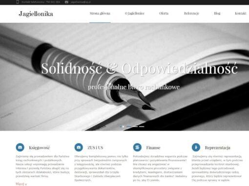 Strona WWW dla Jagiellonika