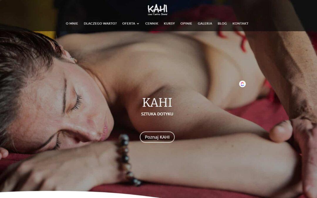 Strona WWW dla KAHI