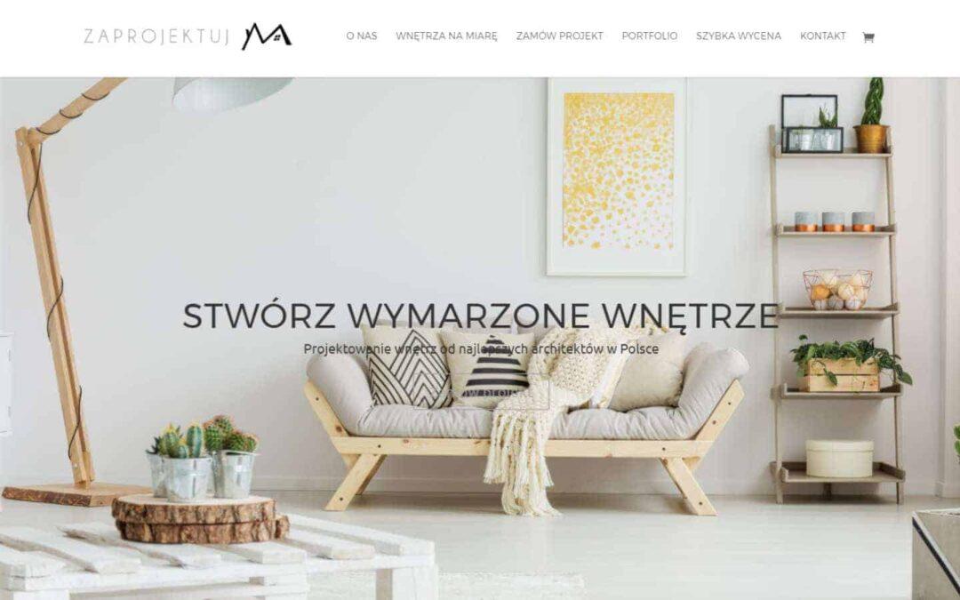 Portal wnętrzarski ZaprojektujM.pl