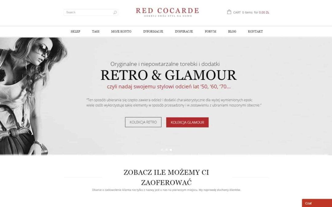 Sklep internetowy Red Cocarde