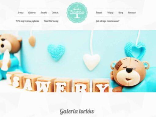 Strona WWW dla Słodka Fanaberia