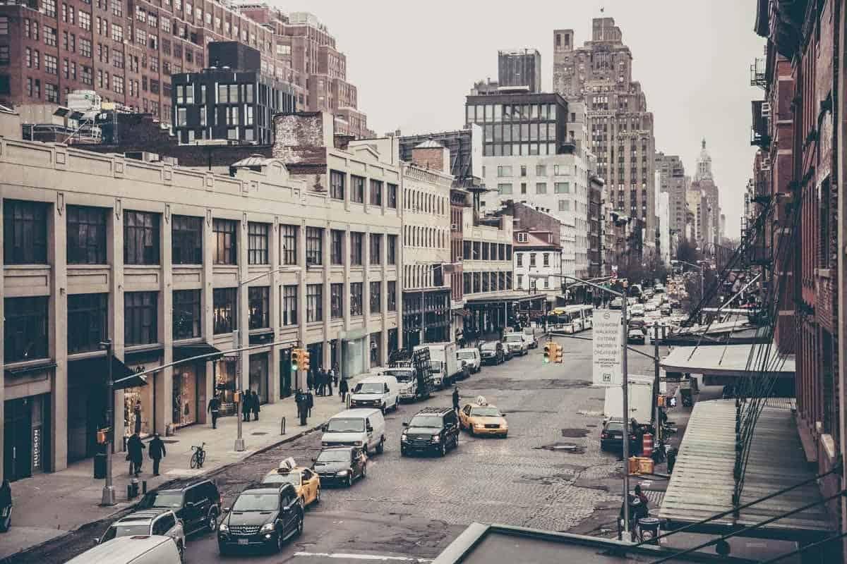 Fotografia architektury miasta