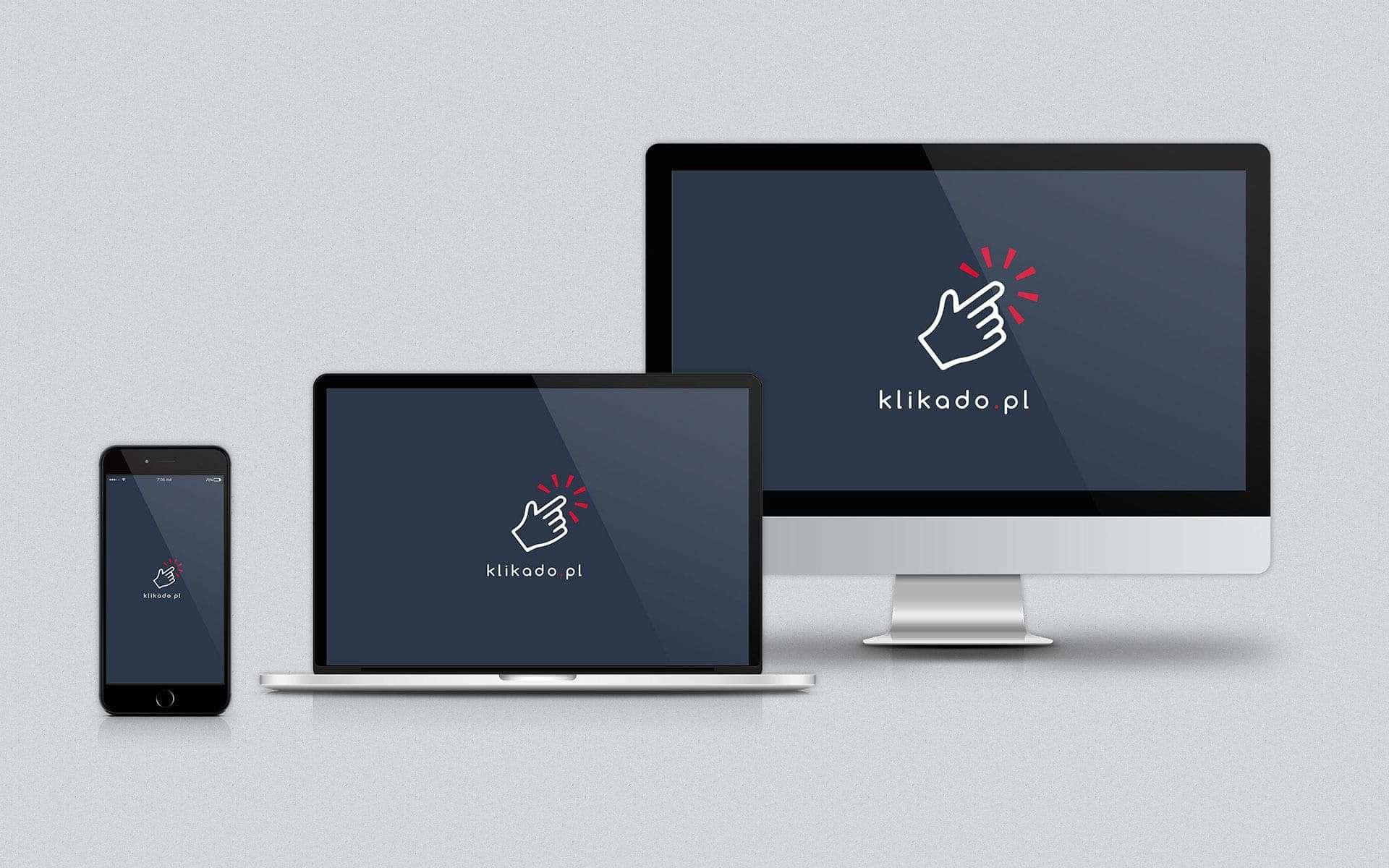 Tworzenie logo dla sklepu internetowego Klikado
