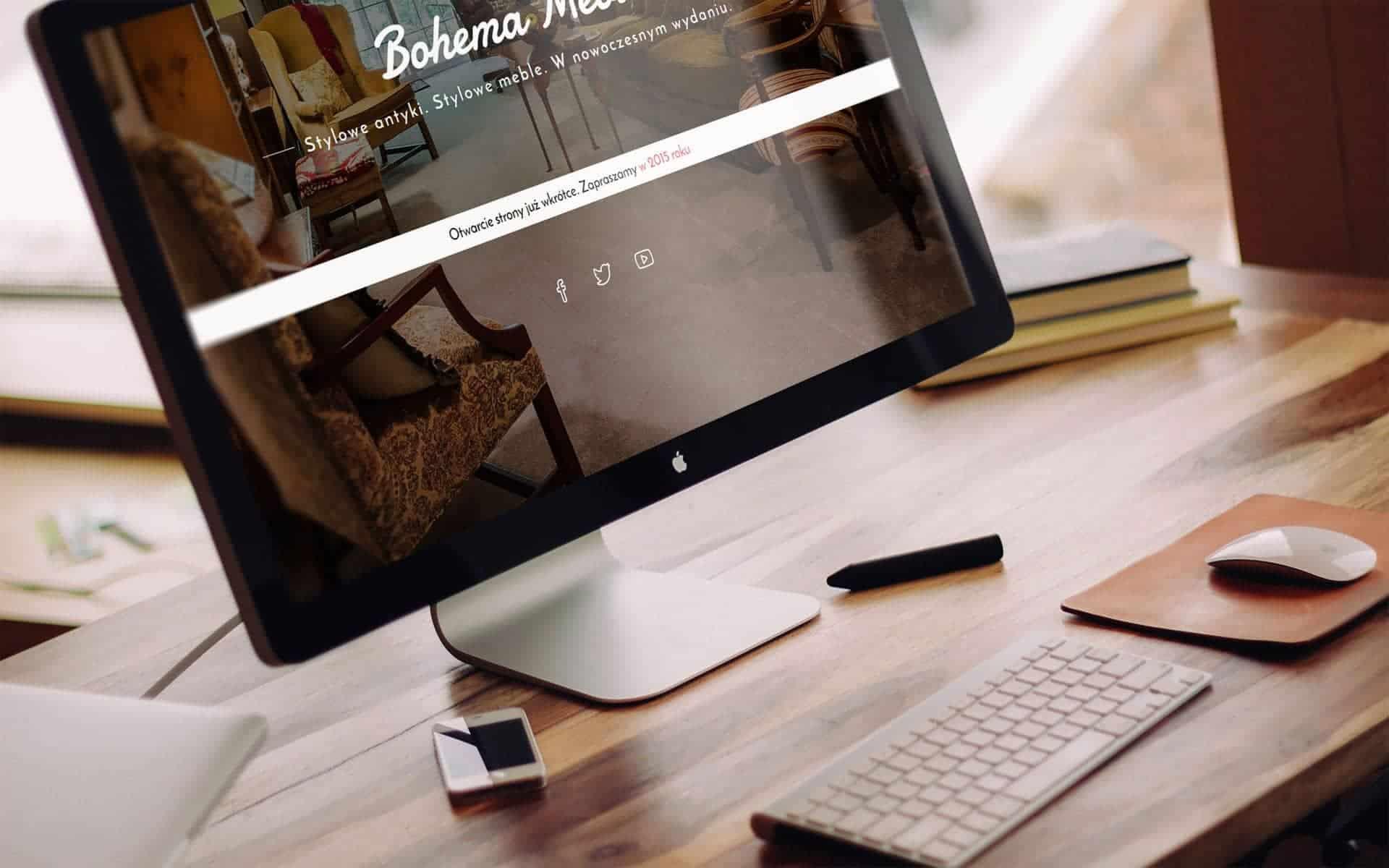 Wizytówka WWW - Bohema Design Bydgoszcz